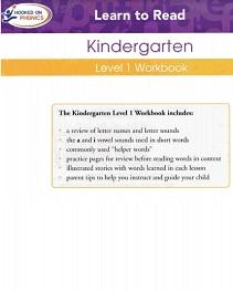 Hooked on Phonics 2010 Kindergarden Level 1 Workbook