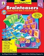 Basic Skills and Beyond Math Brainteasers Grades 4-5