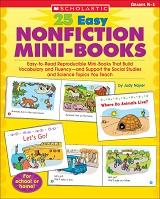 SCHOLASTIC 25 Easy Nonfiction Mini-Books Grades K-1