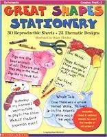SCHOLASTIC Great Shapes Stationery Grades PreK-2