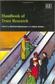 Handbook of Trust Research by Reinhard Bachmann