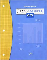 Saxon Math 65 Student Edition Grade 5 by Stephen Hake and John Saxon