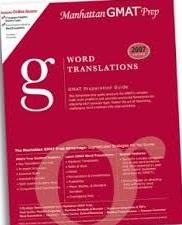 Word Translations Gmat Preparation Guide 4th Edition (Manhattan Gmat Prep)