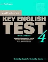 Cambridge Key English Test 4