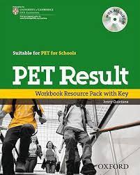 PET Result Workbook Resource Pack With Keys