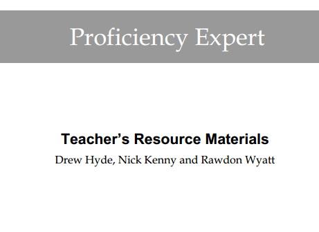 Expert Proficiency Teacher Resource Material