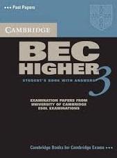 Cambridge BEC Higher 3