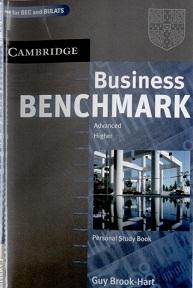 Cambridge Business Benchmark Advanced Personal Study Book BEC and BULATS