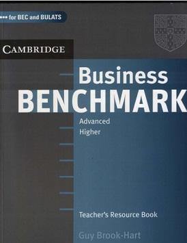 Cambridge Business Benchmark Advanced Teacher Book BEC and BULATS
