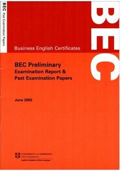 BEC Preliminary JUNE 2002