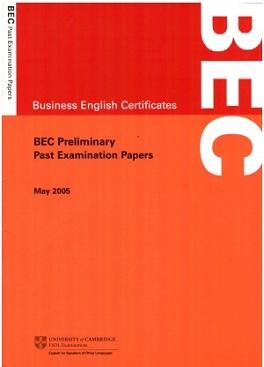 BEC Preliminary MAY 2005