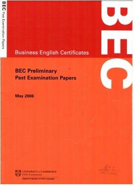 BEC Preliminary MAY 2006