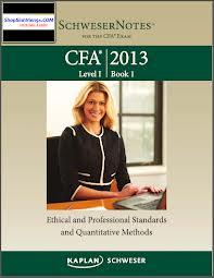 CFA Kaplan 2013 - Level 1 Book 1