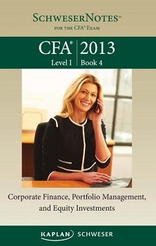 CFA Kaplan 2013 - Level 1 Book 4