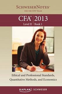 CFA Kaplan 2013 - Level 2 Book 1