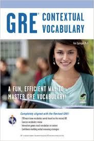 New GRE Contextual Vocabulary