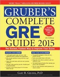 Gruber Complete GRE Guide 2015