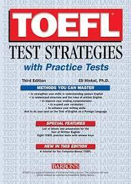 TOEFL Test Strategies with 8 Practice Test - 3rd Edition - Eli Hinkel Ph.D