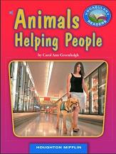 Vocabulary Readers Grade 4 - Animals Helping People