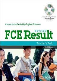 FCE Result Revised Teacher Book