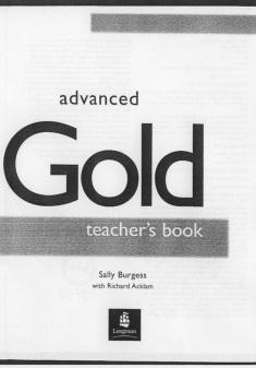 Gold Advanced Teacher Book